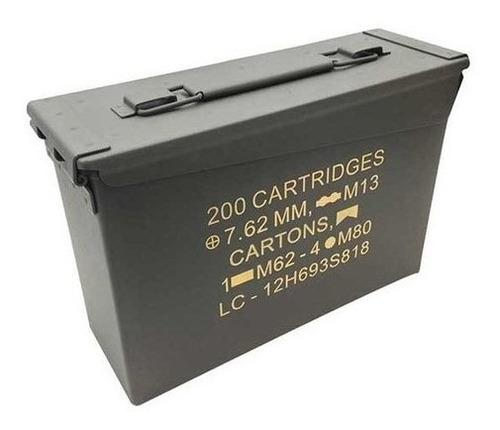 caixa para munição nautika ammo box airsoft - paintball- bbs
