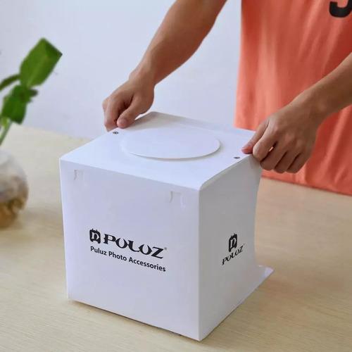 caixa para tirar foto de produto fotografia light box studio