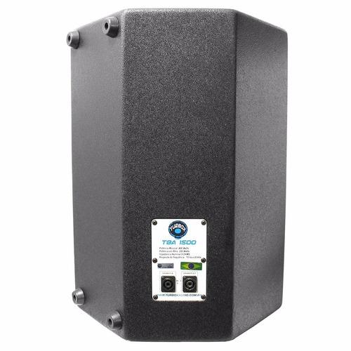 caixa passiva 250 watts tba1500 turbox falante jbl