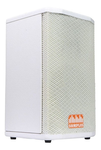 caixa passiva branca somplus 8 pol 150w sp082vias