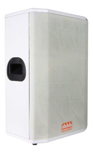 caixa passiva somplus branca 12 polegadas 150w sp122vias