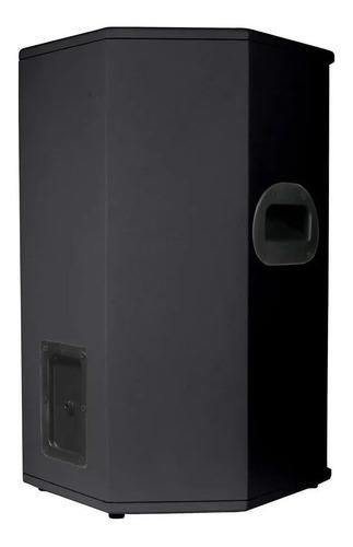 caixa passiva somplus preta 15 polegadas 200w sp152vias