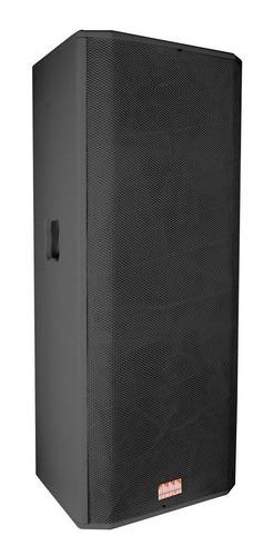 caixa passiva somplus preta 2x15 polegadas 400w sp2152vias