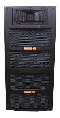 caixa passiva voxtron by oneal 2x15 falantes 200w preto