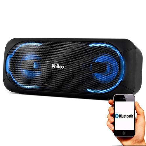 caixa pbs50 som mp3 usb recarregavel portatil extreme philco