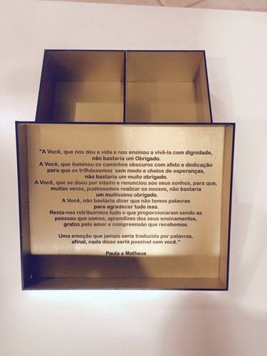 caixa personalizada  casamento em mdf cores na descrição
