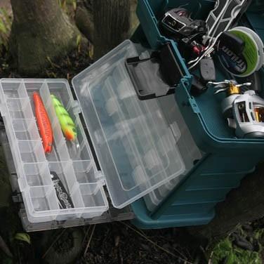 caixa pesca ferramentas bijuterias mb1 nautika igual plano