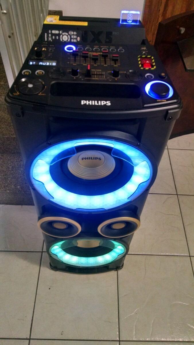 Caixa Philips Nx5 Pro - R$ 1.200,00 em Mercado Livre