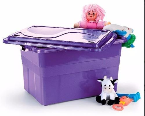 caixa plástica organizadora 70 litros cód. 904