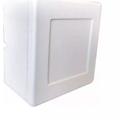 caixa plastica organizadora camera cftv sobrepor (kit 5 pçs)