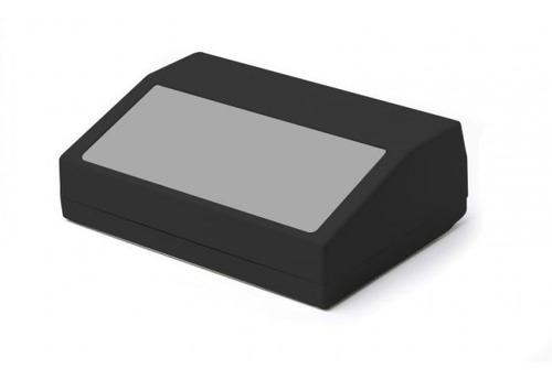 caixa plástica patola case pb-900 pt preta / tampa cinza