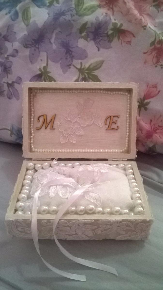 86bf6b8e4fa8 Caixa Porta-aliança Para Casamento - R$ 100,00 em Mercado Livre