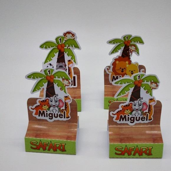 Caixa Porta Bis Duplo 3 D Safari 20 Un R 4000 Em Mercado Livre