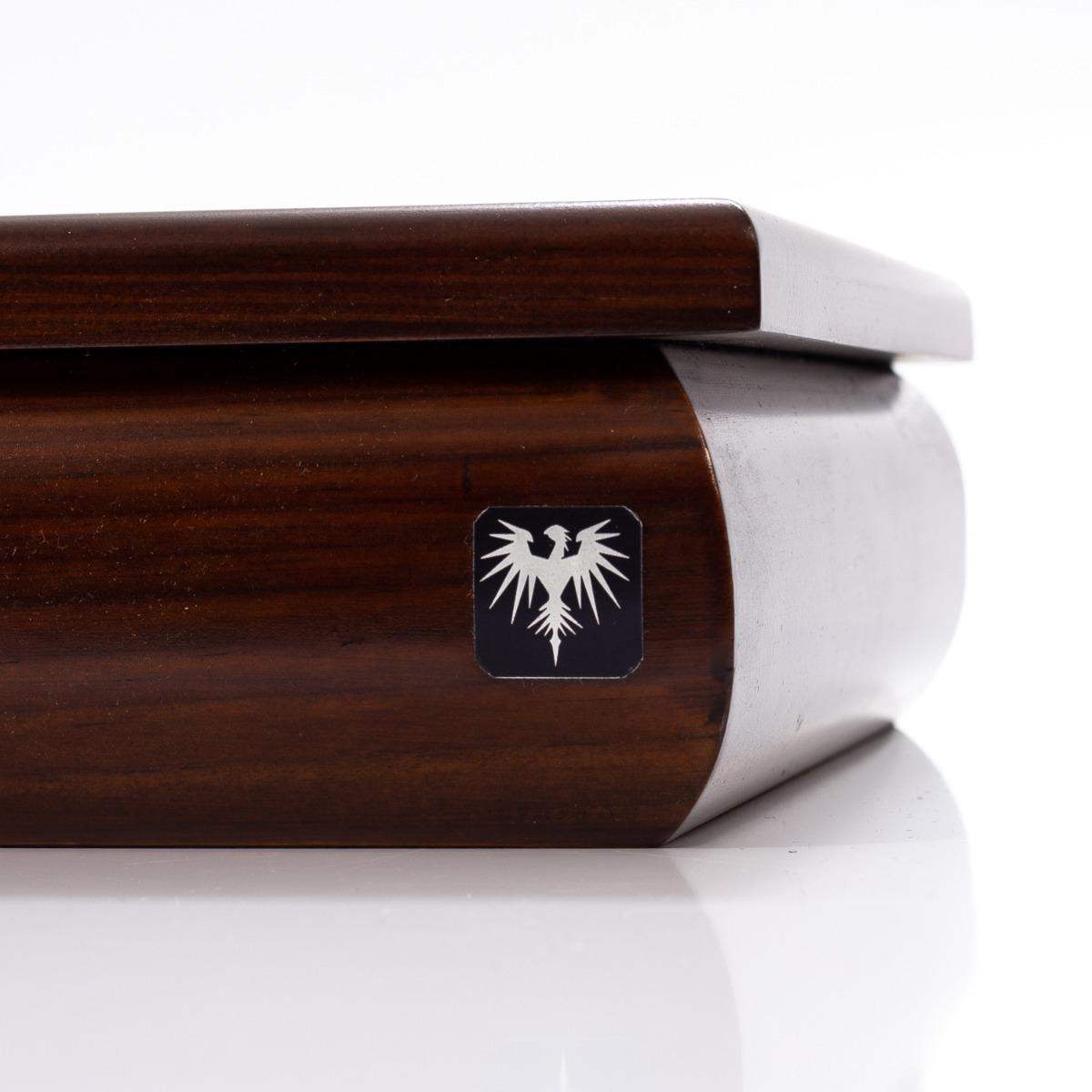 dad341fd107 Caixa Porta Estojo   oval   Para 12 Relógios Madeira Maciça. - R ...