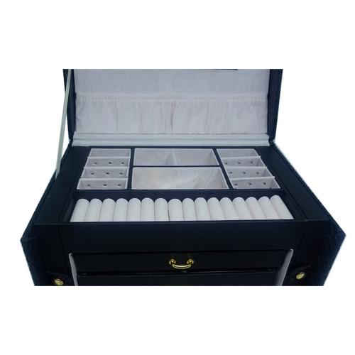 caixa porta jóias relógio