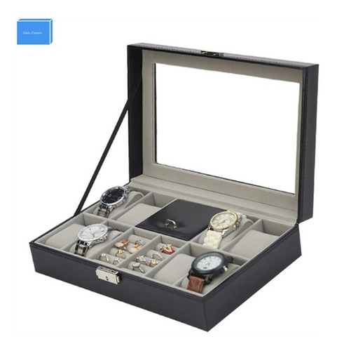 caixa porta joias relogio