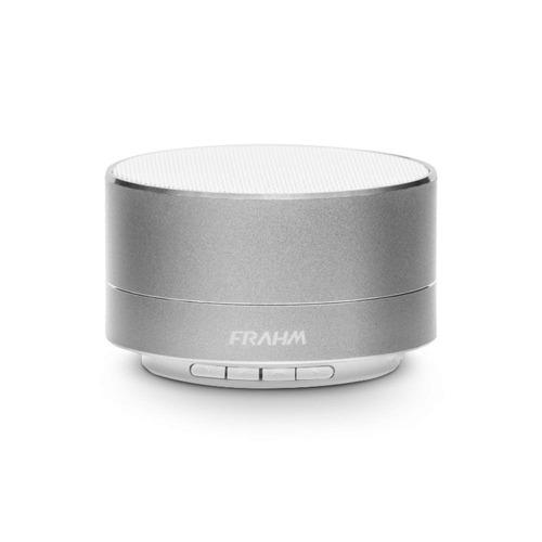 caixa portátil a10 alumínio prata 10w frahm
