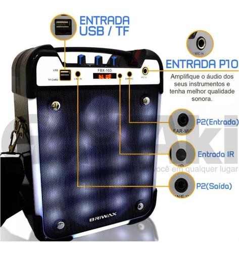 caixa portátil bluetooth