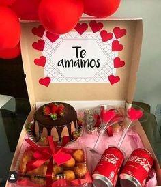caixa presente namorados