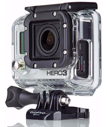 caixa protetora para cabos skelekton gopro 3+ go pro hero 3