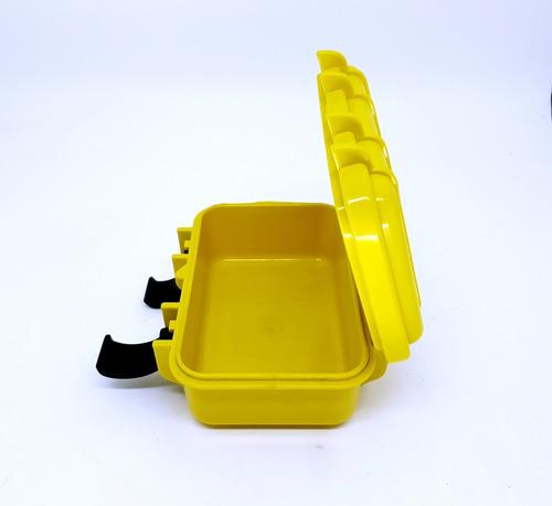 caixa prova d'água edc patola case estojo tático impermeável