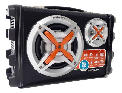 caixa rádio som bluetooth p10 bivolt bateria recarregavel fm mp3