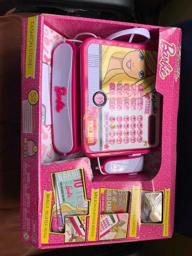 caixa registradora infantil barbie luxo - fun bonellihq v20