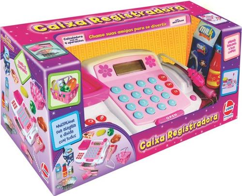 caixa registradora infantil calculadora microfone acessorios
