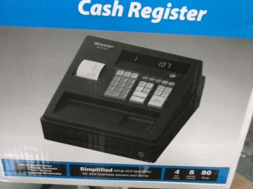 caixa registradora sharp xe-a107 preta nova