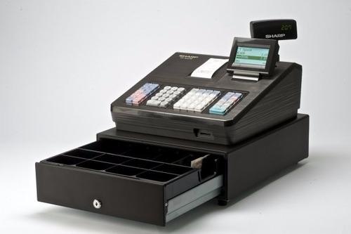 caixa registradora sharp xe-a207 original nova