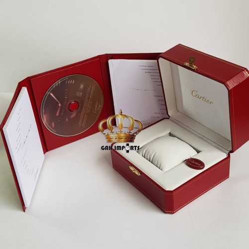 caixa relógio estojo