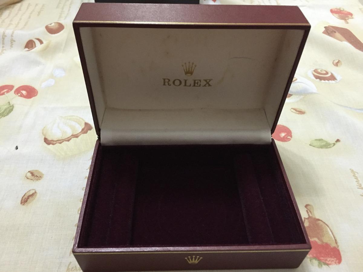 0ea72d4a3b4 caixa relogio rolex original. Carregando zoom.