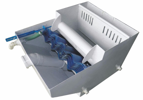 caixa separadora de água e óleo - 2.000 litros/hora