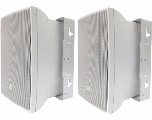 caixa som ambiente casa jbl selenium c621b 100w (par) branca