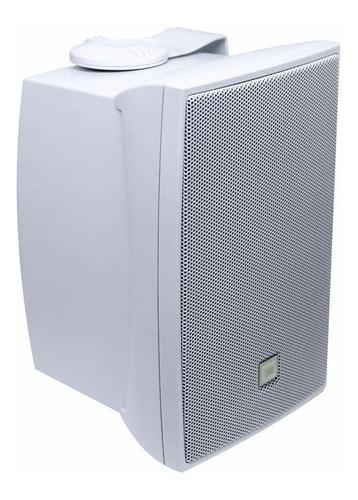 caixa som ambiente jbl c521b  par 80w branca