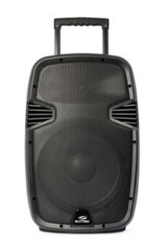 caixa som amplificada 1500w mp3 bluetooth microfone fm usb