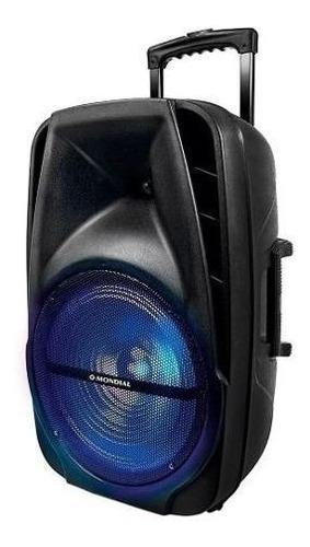 caixa som amplificada 400w bluetooth pendrive cartão bivolt