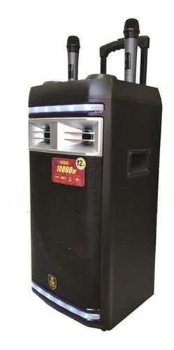 caixa som amplificada bluetooth profissional 1000w rodinhas