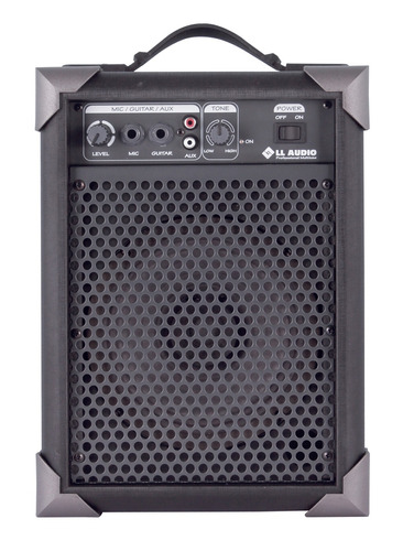 caixa som amplificada microfone lx40 guitarra 10w promoção