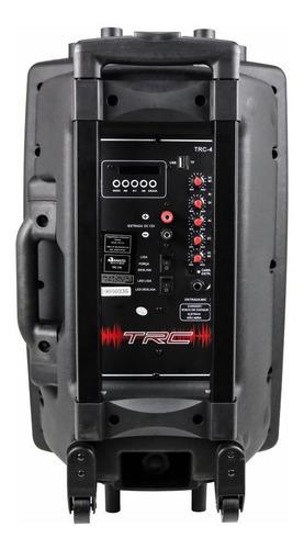 caixa som bluetooth amplificada 350w portátil led falante 12