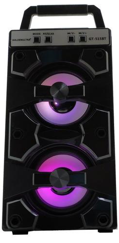 caixa som bluetooth amplificada torre mp3 fm usb sd pc 500w