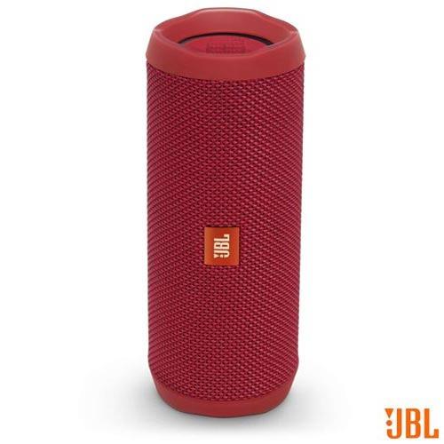 caixa som bluetooth jbl 16w ios android vermelho flip4