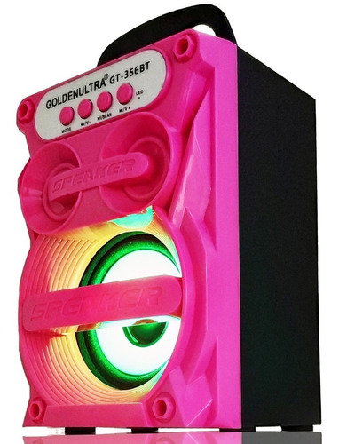caixa som bluetooth portátil rádio fm mp3 usb p2 aux sd 300w