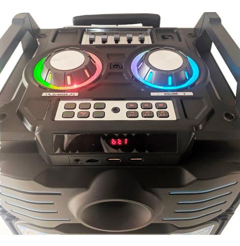 caixa som portátil amplificada bluetooth recarregável bivolt