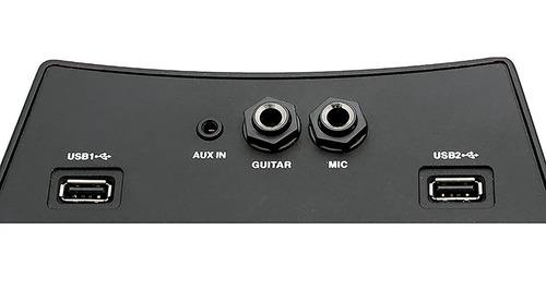 caixa som portátil bluetooth recarreg philco pht3000 100w