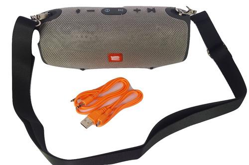 caixa som portatil bluetooth xtreme mini 40w rms potente fm