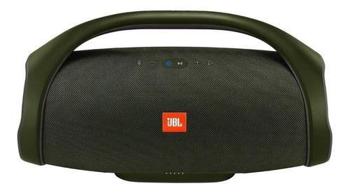 caixa som portátil jbl boombox connect+ à prova dágua verde