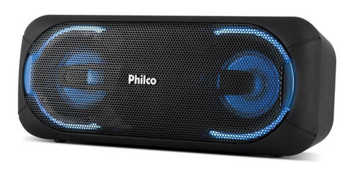 caixa som portátil pbs50 bluetooth 50 rms potente philco