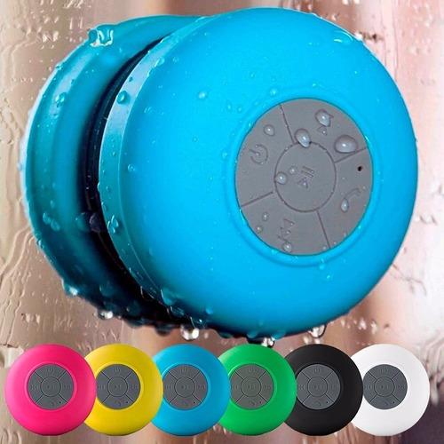 caixa som prova d'água bluetooth musica chamadas banho