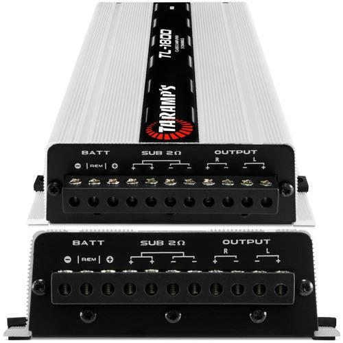 caixa som trio dutada selenium bass forte + módulo taramps
